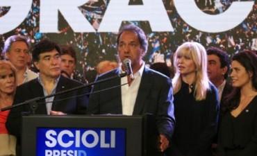 Scioli: Reconoció la derrota.