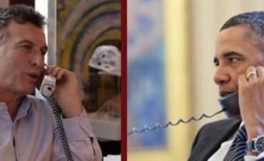 Obama llamó a Macri para felicitarlo