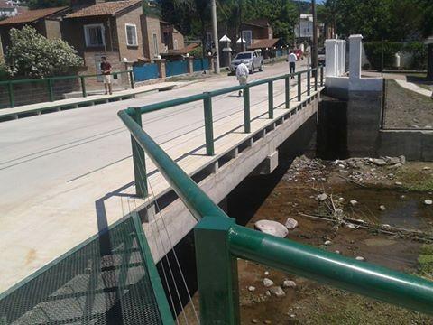 Otro puente en Sierras Chicas de los que