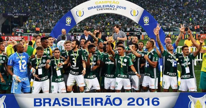 Palmeiras se consagró campeón del Brasileirao luego de 22 años