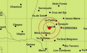 Hubo un sismo de 2,5 esta tarde cerca de Tanti