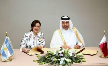Qatar invertirá en Argentina US$ 1.000 millones en obras