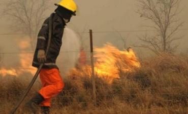 Entre el viernes y lunes hubo hasta 69 incendios por día en Córdoba