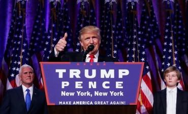 Ganó Donald Trump y es el nuevo presidente de EE.UU.