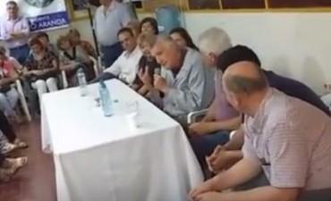 Gioja insultó a Macri durante un acto político