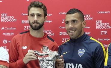 Boca se mide en un amistoso frente al Sevilla en España