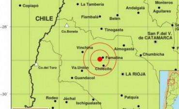 Fuerte temblor en La Rioja se sintió en todo el país