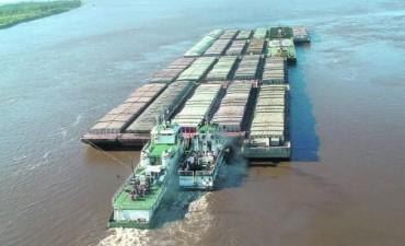 Millonario contrabando de soja por el Río Paraná y Paraguay