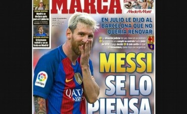 Según el diario Marca, Messi se va del Barcelona