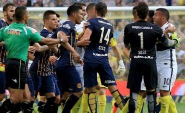 Boca empató contra Rosario Central y se alejó de la punta
