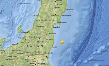 Alerta de tsunami en Japón tras un potente sismo de 7,3º