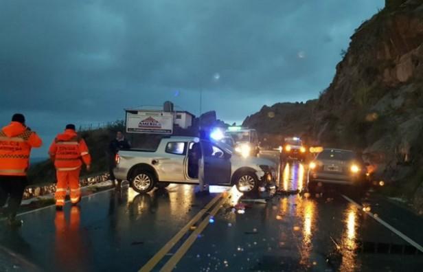 Murieron dos personas luego de desbarrancar en las Altas Cumbres