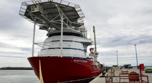 Mandaron el Skandi Patagonia,, el buque que ilusiona con encontrar el ARA San Juan