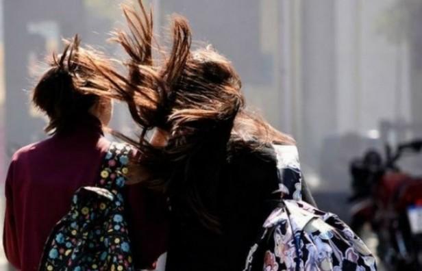 Rige una alerta por vientos intensos para el centro del país