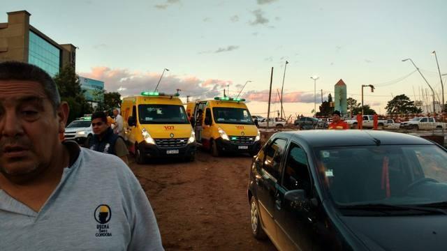 Cuatro heridos tras derrumbe en la obra de la Mujer Urbana