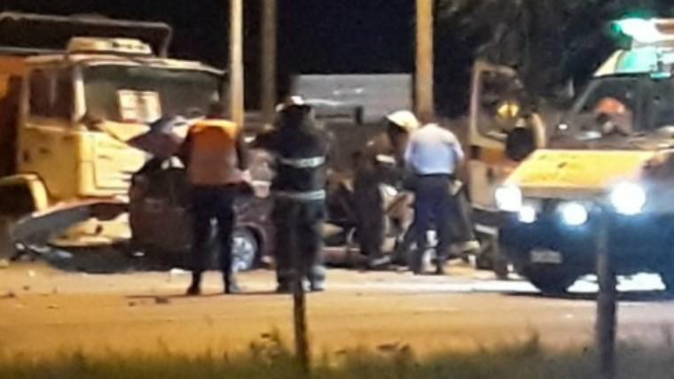 Tres muertos tras vuelco fatal en General Cabrera