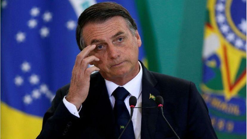 Bolsonaro trató de