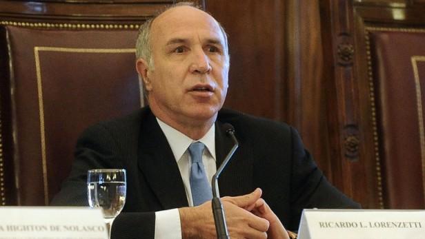 Lorenzetti admitió que no le gustan los cambios que incluyó el Congreso en el nuevo Código Civil