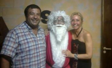 Papá Noel visito 98.1