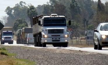 Restringen la circulación de camiones en rutas nacionales