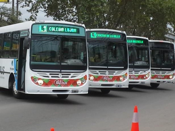 Tarifa de transporte de pasajeros en Villa Allende