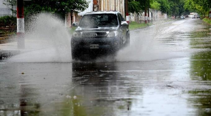 Fuertes lluvias en Córdoba, alerta para el centro y el norte de la provincia