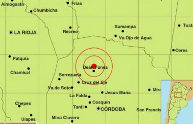 Fuerte sismo sacudió durante la madrugada a Córdoba