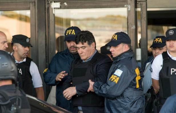 Carlos Zannini está en los tribunales de Comodoro Py