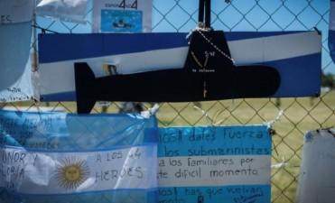Familiares de tripulantes del ARA San Juan pasaron Navidad en la Base Naval