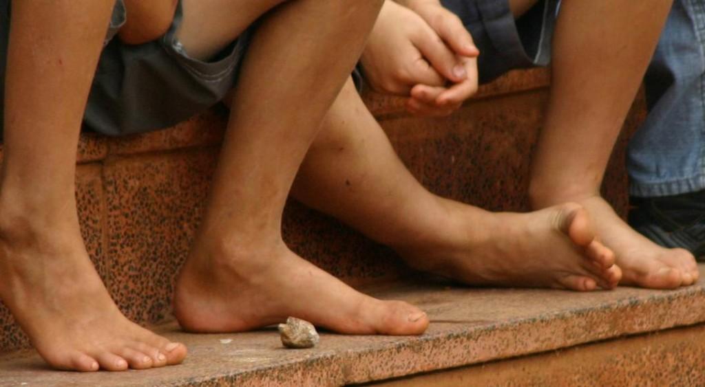 El 44% de los pobres son niños y adolescentes