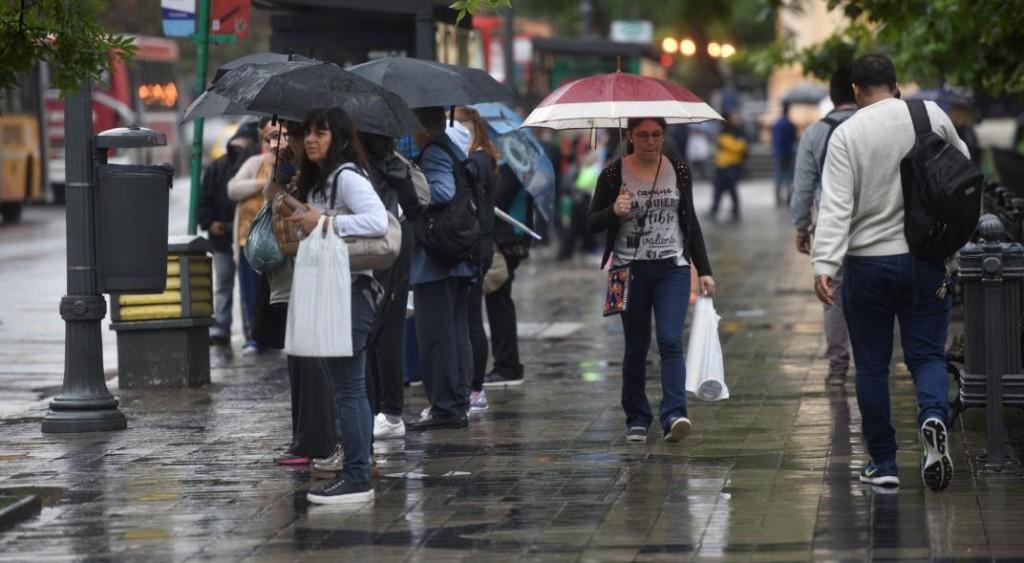 Las lluvias seguirían hasta el jueves en Córdoba