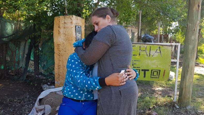 Una mujer embarazada murió electrocutada durante la tormenta