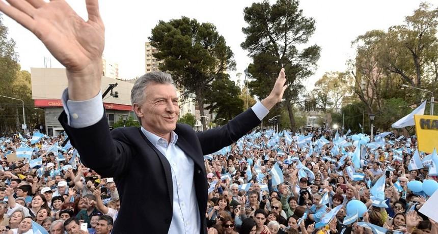 Se realiza hoy manifestación de apoyo y despedida a Macri