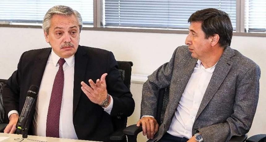 El presidente Fernández se reúne con Daniel Arroyo