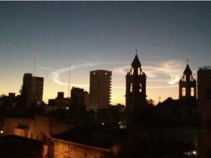 Un meteoro fue visto en nueve provincias del norte y centro
