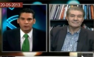 Explosivo cruce en vivo entre Víctor Hugo y un periodista de la CNN