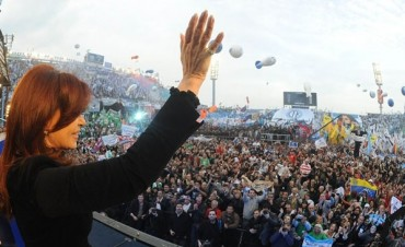 La Presidente ya tiene su estadio de fútbol