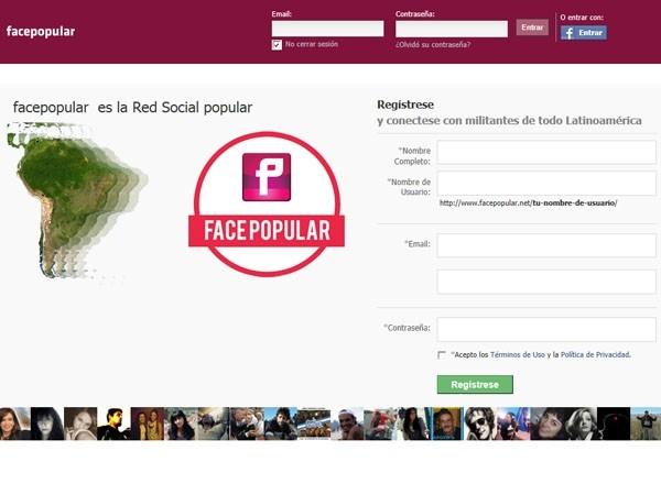 Luis D'Elía lanzó su propia versión de Facebook