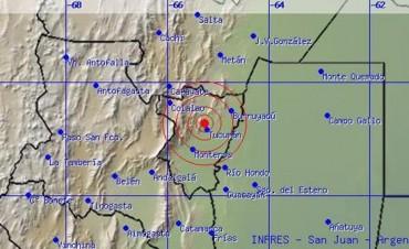 Susto en el norte: se sintió fuerte un temblor en Tucumán