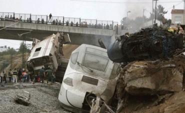 Mas de 50 muertos por accidente en España