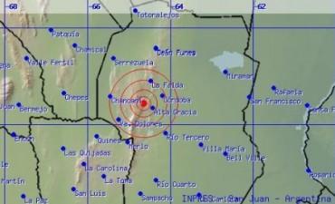 Tres sismos sacudieron Córdoba en poco más de una hora
