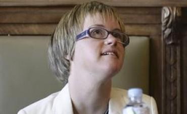 Asumió en España la primera concejal con síndrome de Down