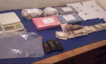 Tres kilos de Cocaína y pasta base. Secuestran drogas en Unquillo
