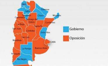 El Gobierno perdió en 13 provincias y en Capital