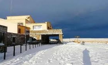 Intensas nevadas en Altas Cumbres y Calamuchita