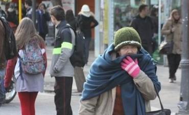 La ola de frío polar se siente en el país: la sensación térmica tocó -10° en Córdoba