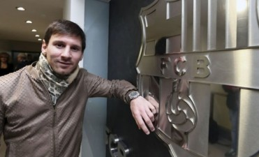 Messi gana ¡30 mil pesos por hora!