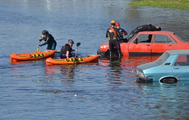 Fue un éxito el simulacro de inundación en Córdoba Capital
