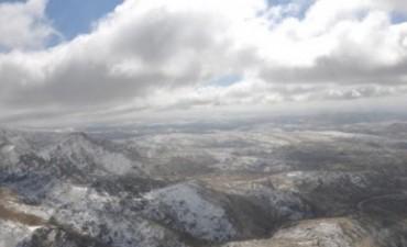 Anuncian nevadas en las sierras de Córdoba