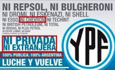 YPF se negó a darle a la Justicia el acuerdo firmado con Chevron